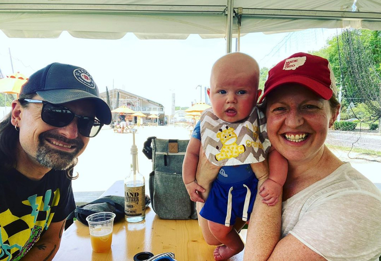 Mike, James, and Katie Moroski / Image courtesy of Mike Moroski // Published: 8.9.20