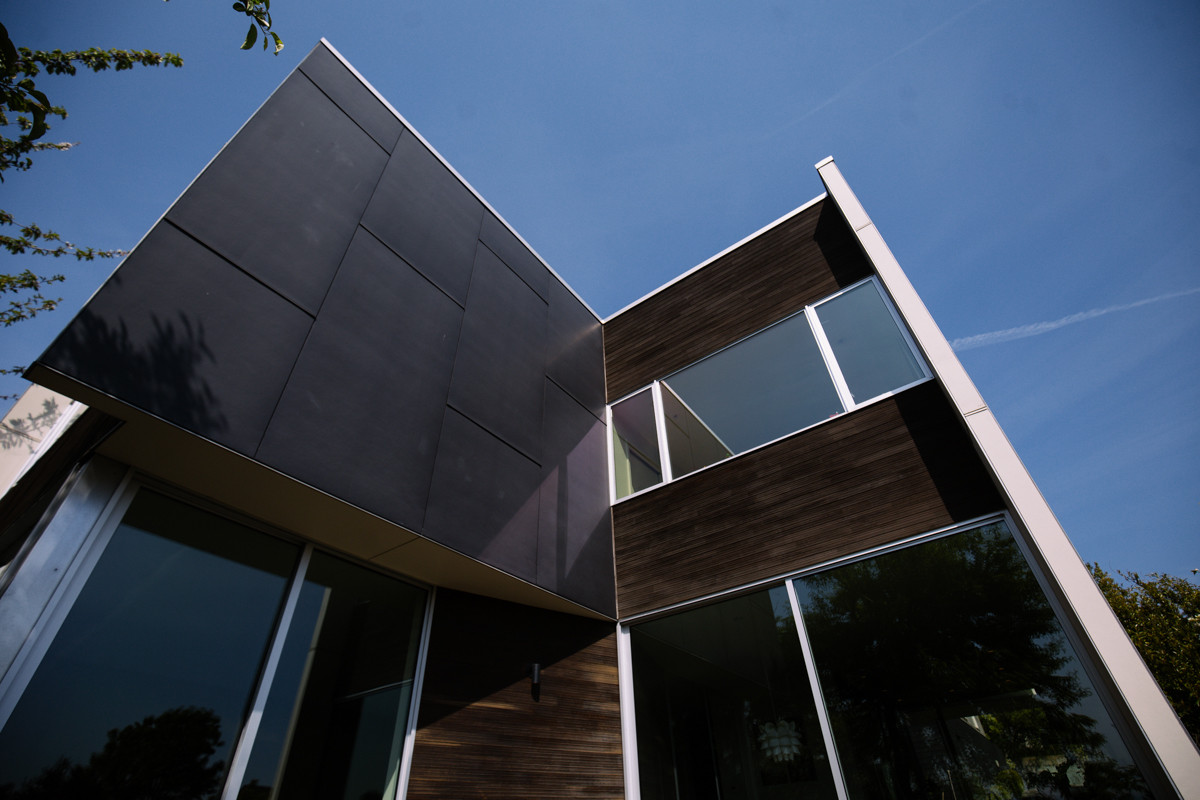 modern home tour the backyard house seattle refined