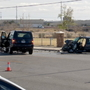 Serious crash reported along Zaragoza Road in El Paso's Lower Valley