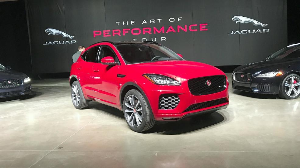 2018 jaguar line up.  jaguar jaguar shows off new additions to the 2018 lineup in jaguar line up