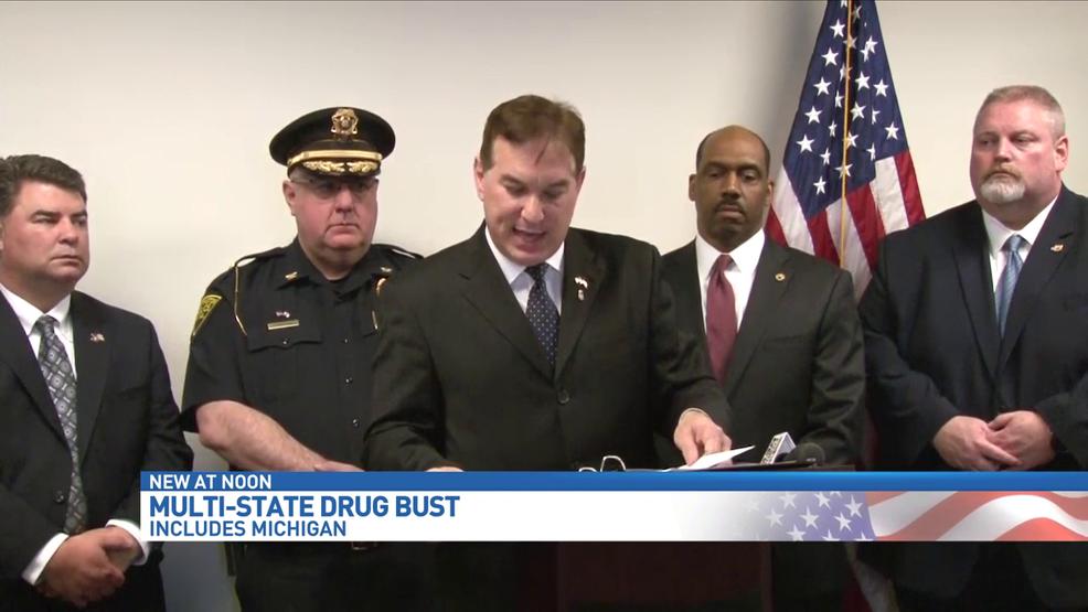Dozens arrested in drug bust in Huntington, West Virginia | WWMT
