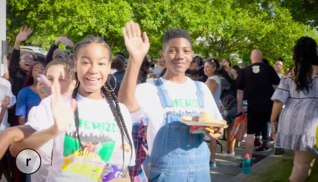 About 200 kids tried out for The Wiz - A Search for Brilliance this year, the largest group ever to audition for this long-running summer program put on by Seattle Parks & Recreation. About a hundred made the cut.
