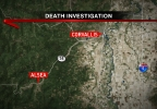 KVAL_death investigation Alsea map.png