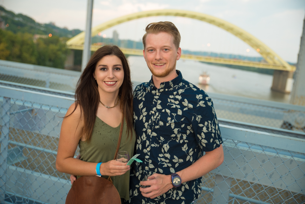 Brittany Burkhardt and Quinn O'Bryan from Wine over Water / Image: Sherry Lachelle Photography // Published: 9.2.18