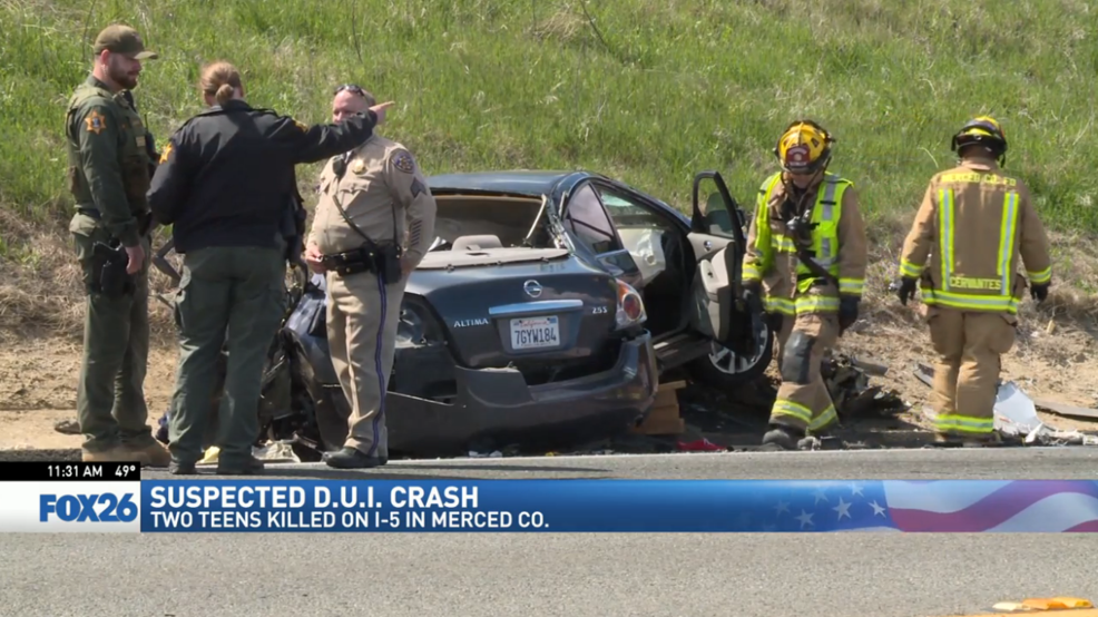 DUI crash on I-5 kills two teenage boys | KMPH