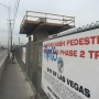 Pedestrian bridge installation causes Charleston to close from Nellis to Lamb this weekend