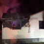 Firefighters battle Virginia house fire while trying to keep water hoses from freezing