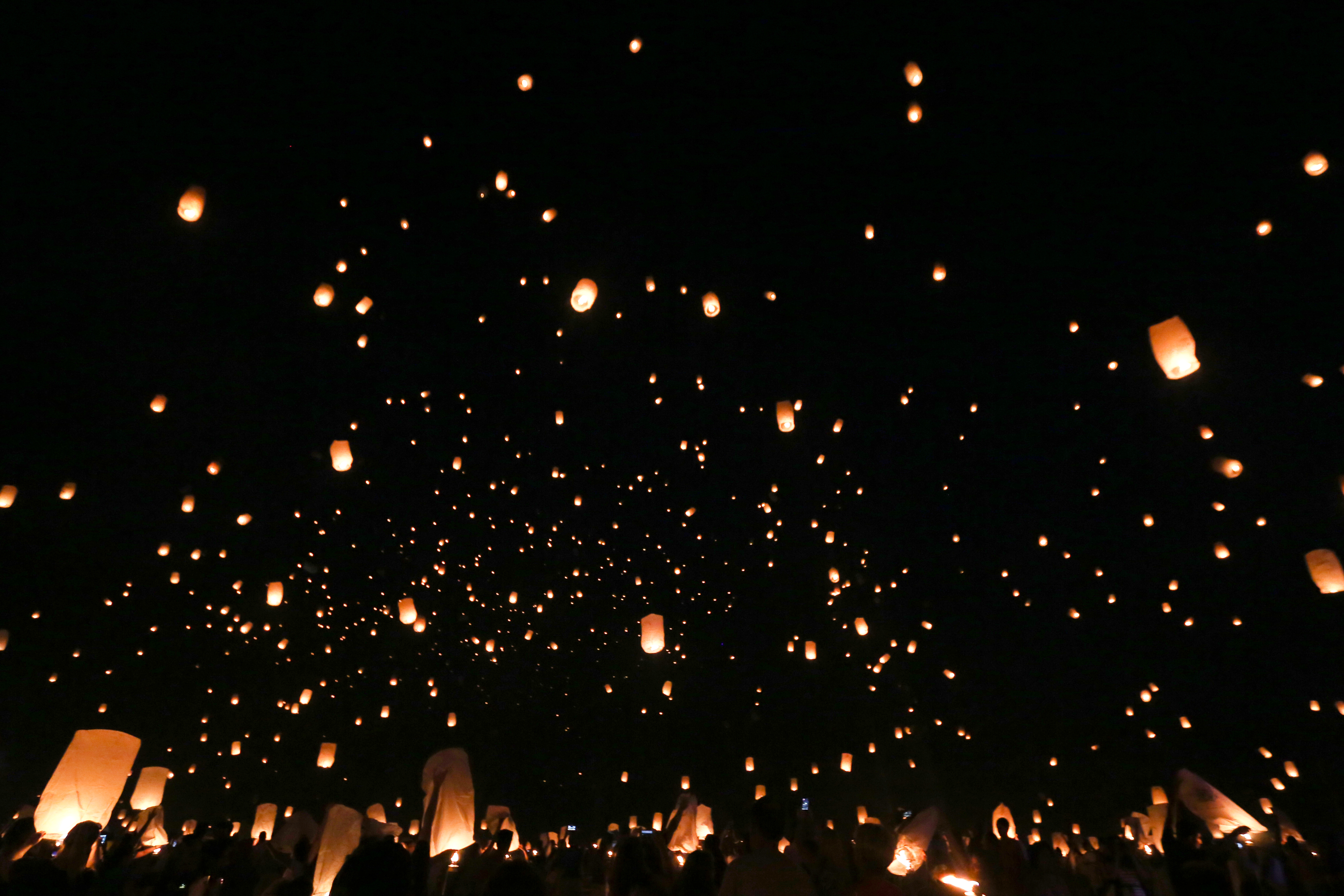 August, 2017. Lanterns fill the sky at the annual Lantern Festival.{&amp;nbsp;} (Amanda Andrade-Rhoades/DC Refined)<p></p>