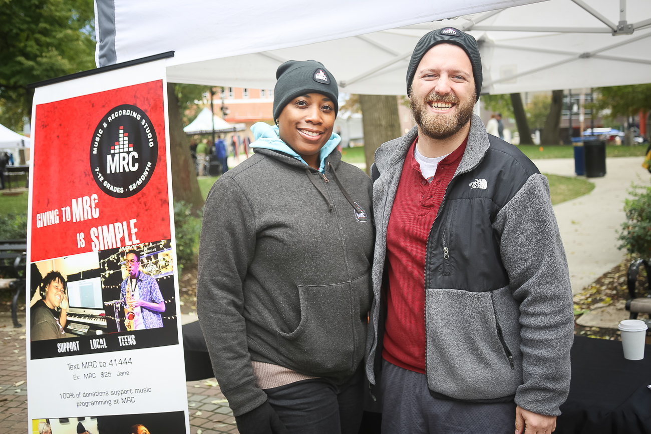 Belinda Carson and Nick Rose from Music Resource Center / Image: Ann Van Epps // Published: 10.29.18