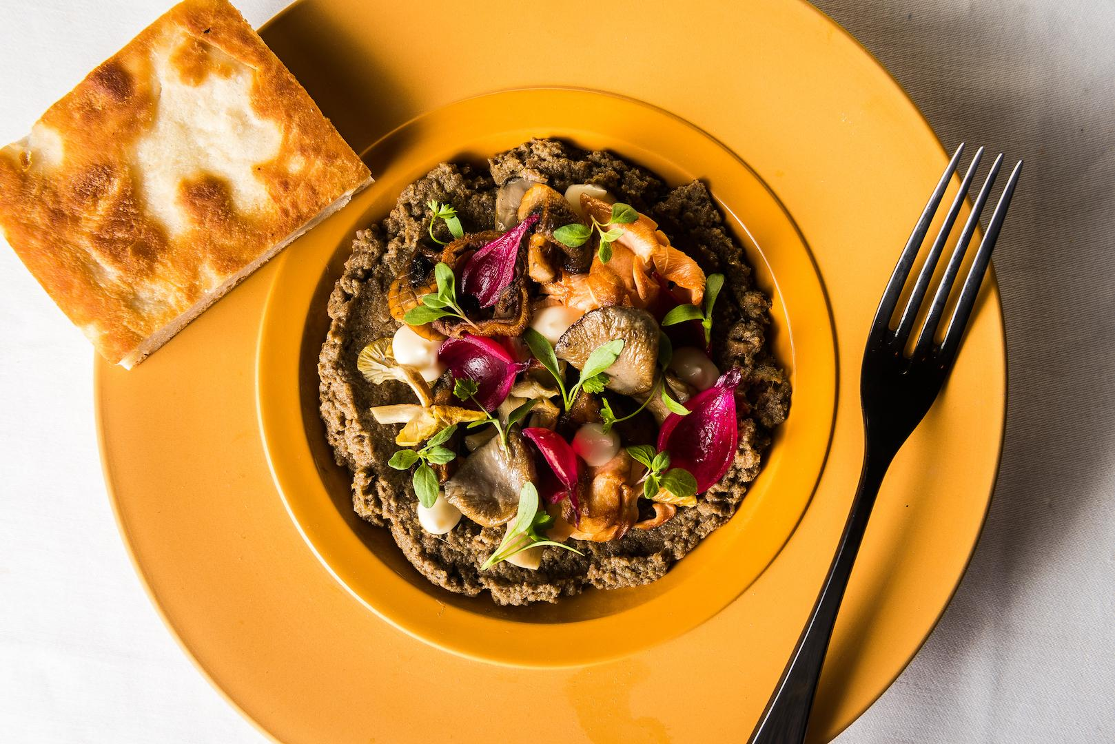 The mushroom forest dish at Kith and Kin{&amp;nbsp;}(Photo by Rey Lopez)<p></p>
