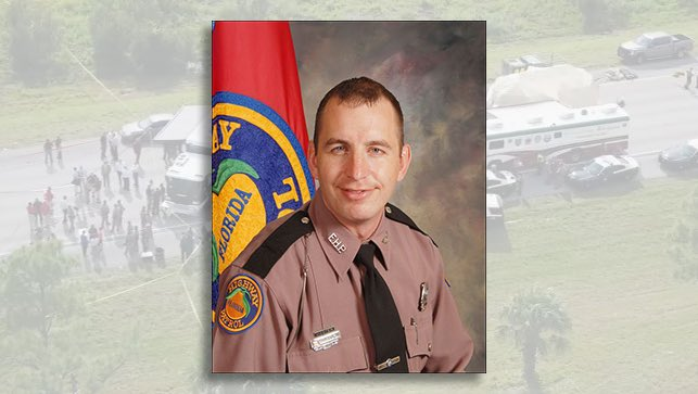 FHP Trooper Joseph Bullock shot and killed on I-95 in Martin County by Franklin Reed, 30, of Palm Bay, Florida. (FHP)