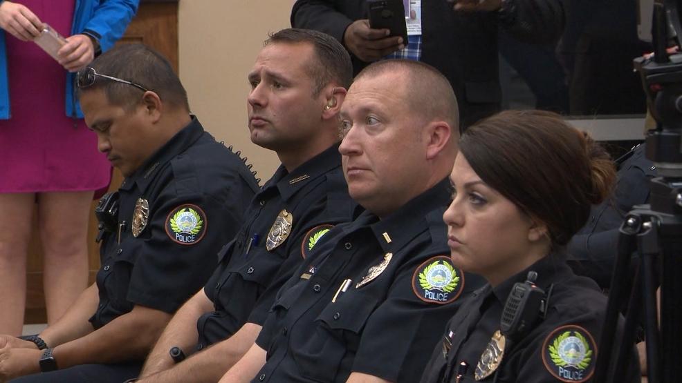 Police report facial hair