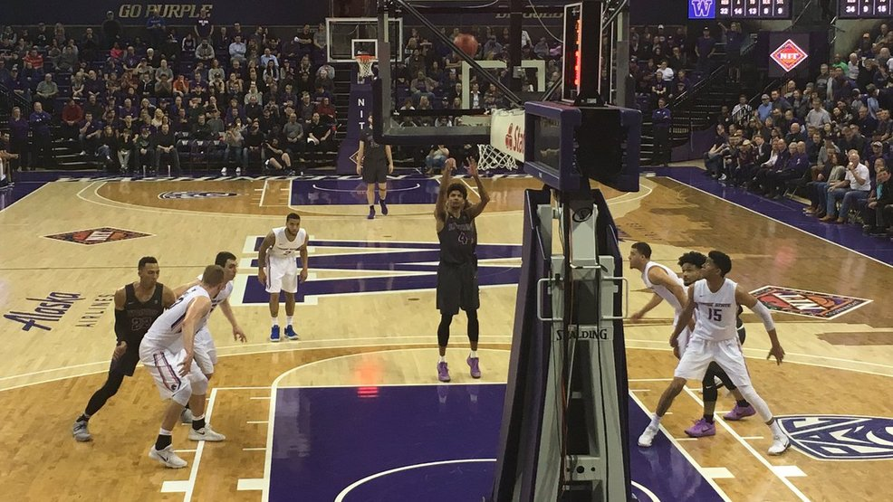 Washington holds off Boise State 77-74 in 1st round of NIT