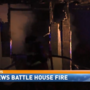 Firefighters respond to overnight fire on Glen Acres Drive