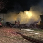 Garage catches fire in Wheeling