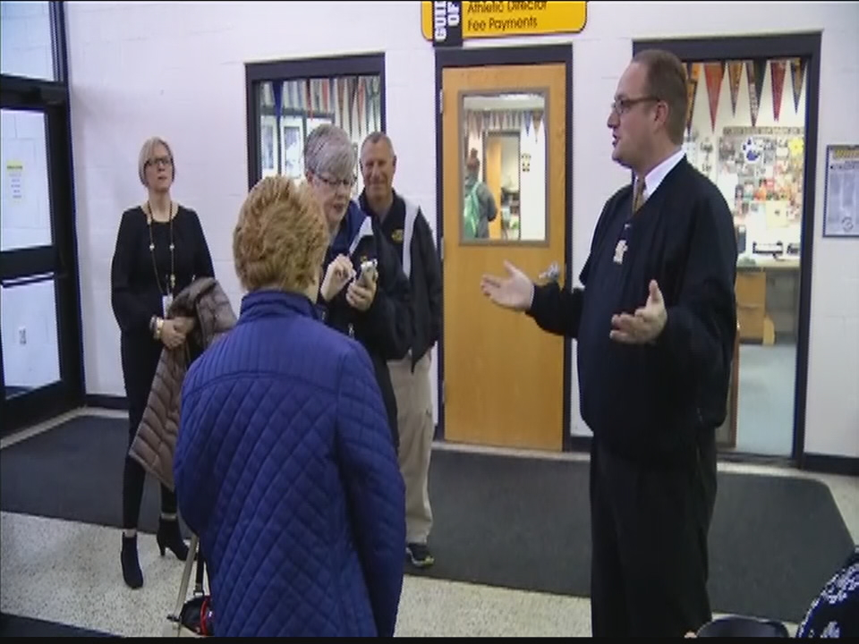 Southwest Licking Schools is giving tours of their district buildings as they work to pass a new bond issue in May to build new facilities (WSYX/WTTE)