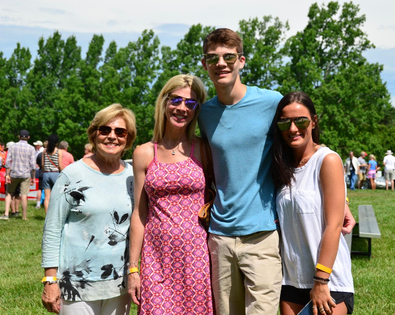 Marge and Megan Markley with Michael Drees and Jenna Pabodi / Image: Leah Zipperstein, Cincinnati Refined // Published: 6.11.18