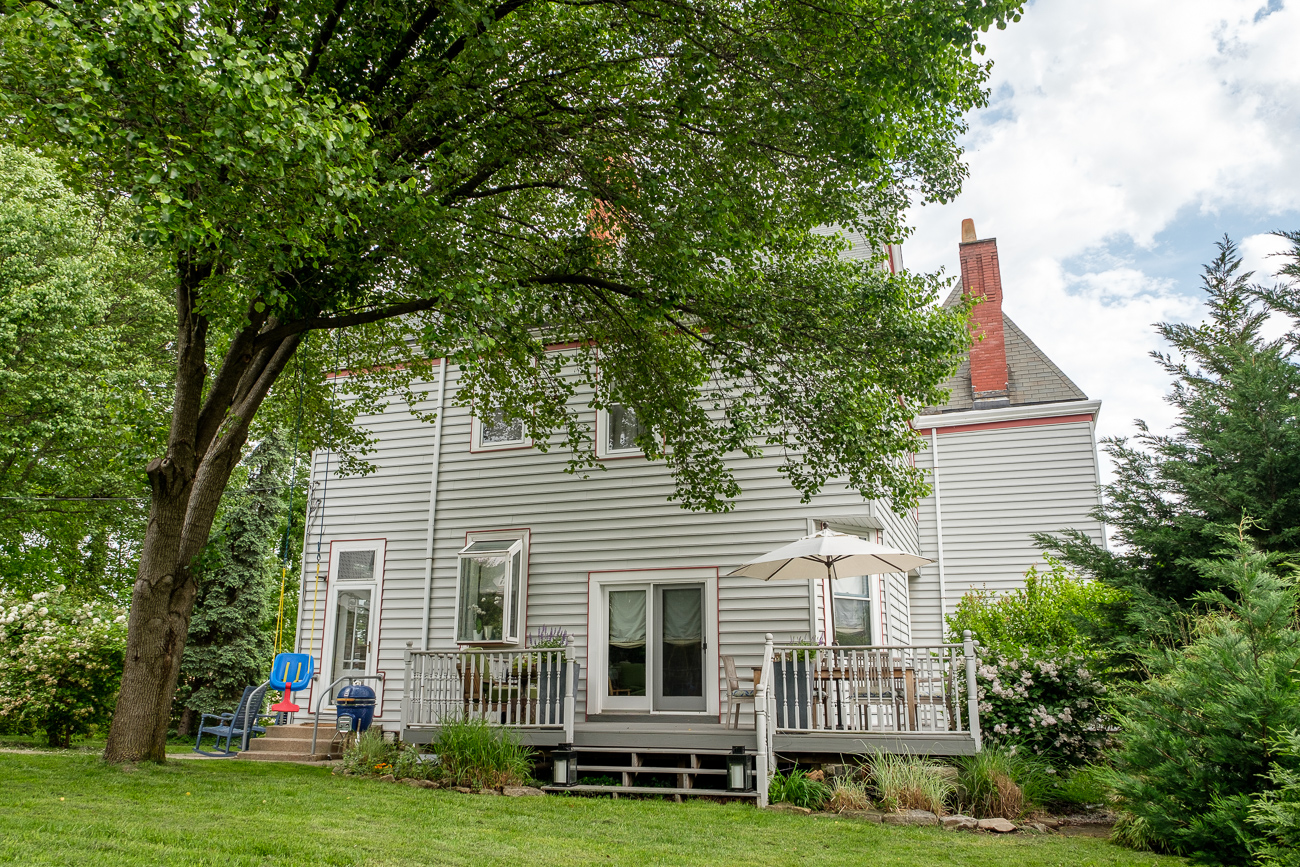 Katie and Wil Gumerson moved to Norwood after relocating from Dallas, TX in 2013. The two had a son, Max, and bought and remodeled an old Victorian home that was built in 1907. After many repairs and alterations, the home looks quite a bit different today than it did when they purchased it. / Image: Daniel Smyth // Published: 5.24.17