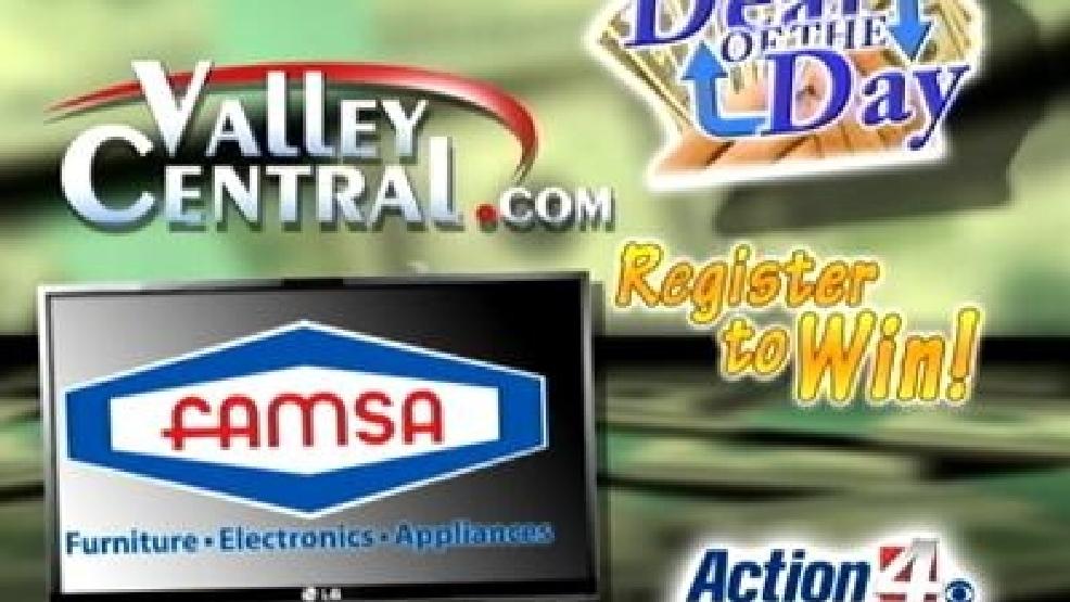 Win a 50-inch flat screen TV from Famsa | KGBT