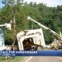 Homeowners concerned after truck hits utility pole near home