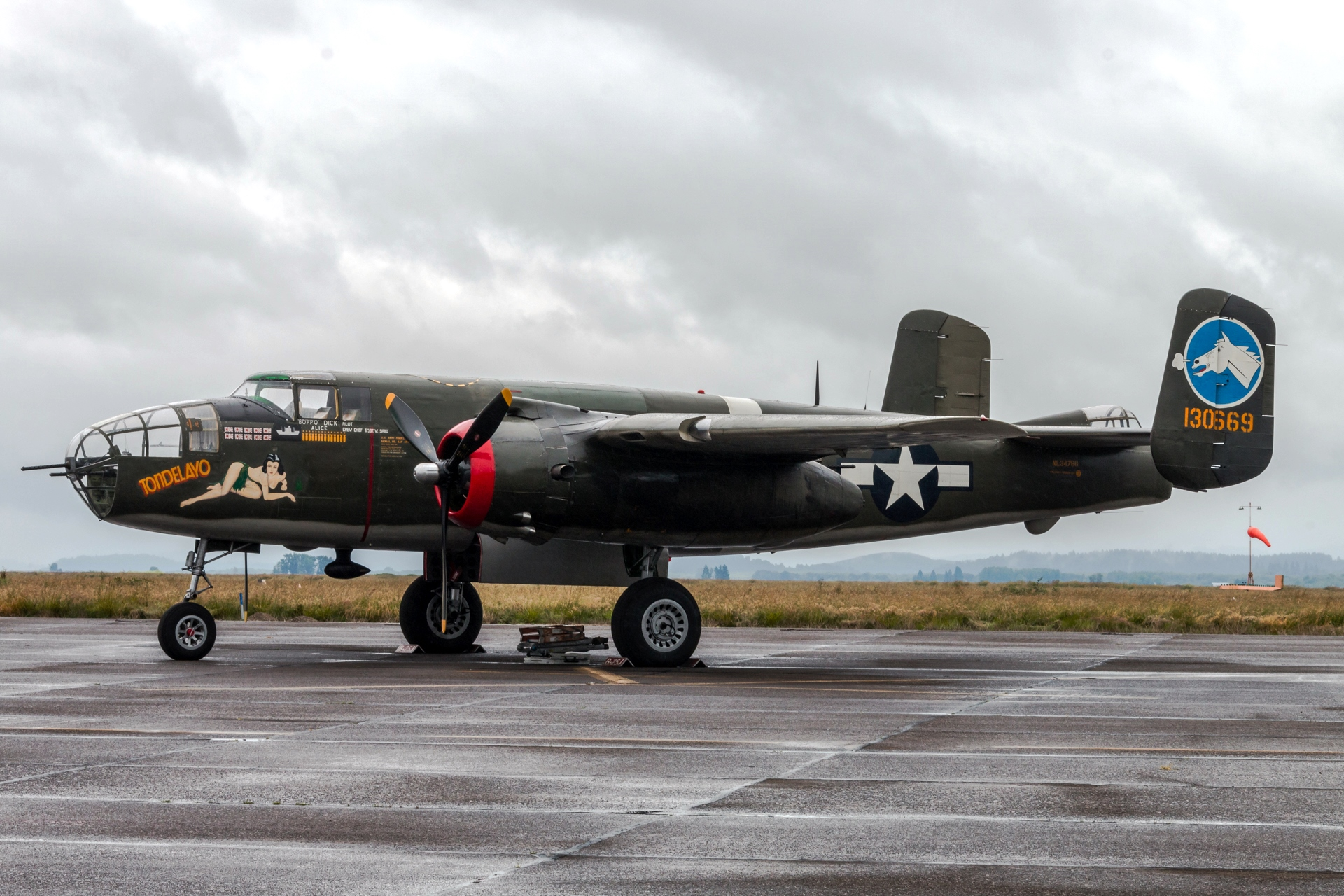 World War II era aircraft are at the Corvallis Airport through noon Friday as part of the Wings of Freedom tour put on by the Collings Foundation. (Ray Whittemore Photography)