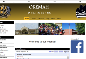 Okemah Public Schools | Calendar and supply lists