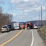 SP: Woman escorting wide load vehicle dies in head-on crash in Otsego Co.