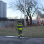 UPDATE: Crews battle rekindled fire at old Drewrys plant
