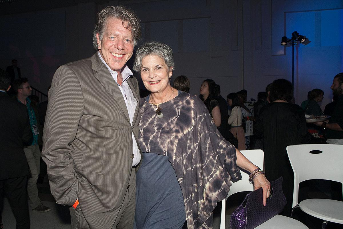 Conrad and Jennifer party the night in McCaw Hall at the SIFF Opening Night Gala. (Image: Joshua Lewis / Seattle Refined)