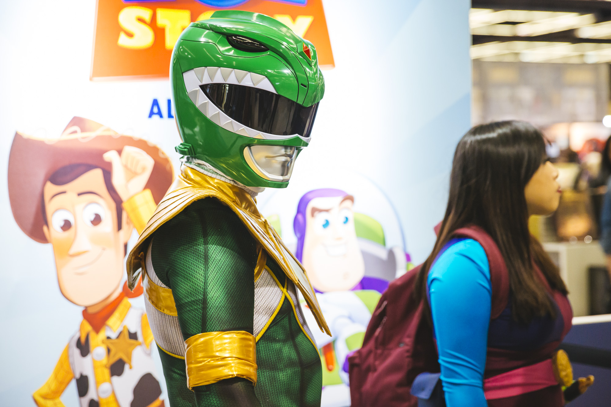 Emerald City Comic Con is the largest comic book and pop culture convention in the Pacific Northwest. Thousands come to the Washington State Convention Center in Seattle for 4 days of cosplay, comic books, celebrities, panels and more. This year, they're expecting upwards of 95,000 people! Today, (March 16, 2019) is the third day of the convention. (Image: Sunita Martini / Seattle Refined)