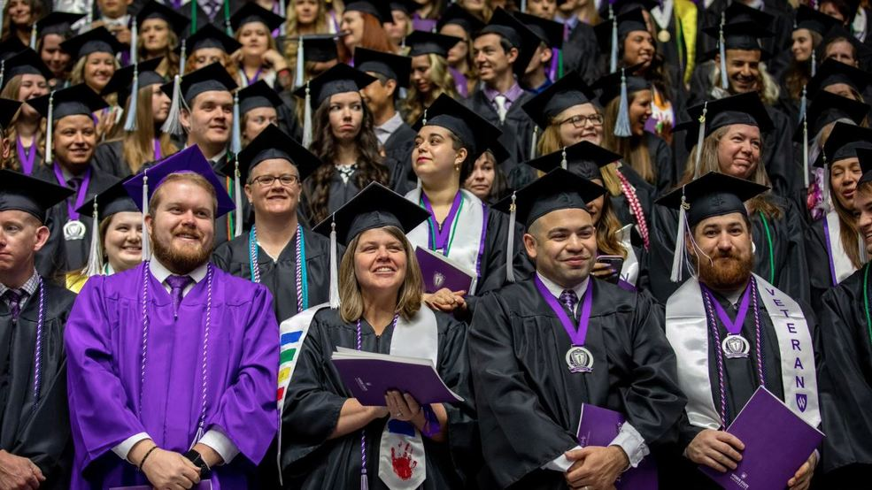 WSU graduates largest class in its history at 153rd