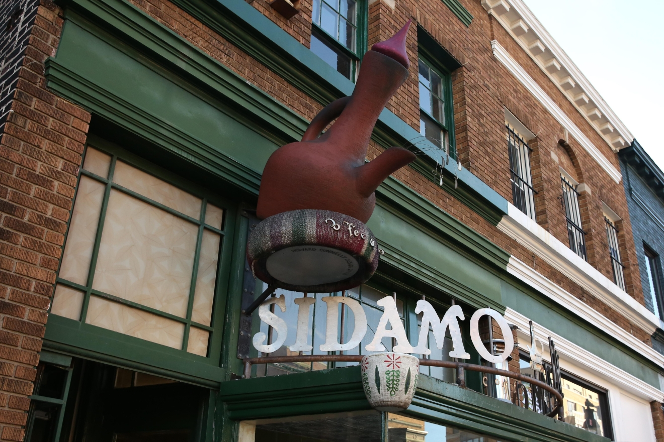 Sidamo is an Ethiopian coffee shop, another tribute to the area's diversity (Amanda Andrade-Rhoades)