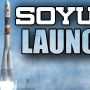 Soyuz rocket carrying crew of 3 blasts off from Baikonur