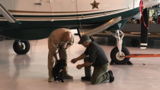 Dog found stuffed in crate adopted by Sheriff's pilot in Tampa