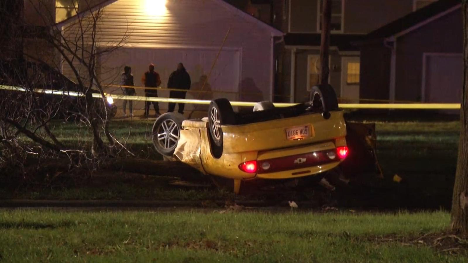 Crash reconstruction called to the scene of a crash on N. James H ...