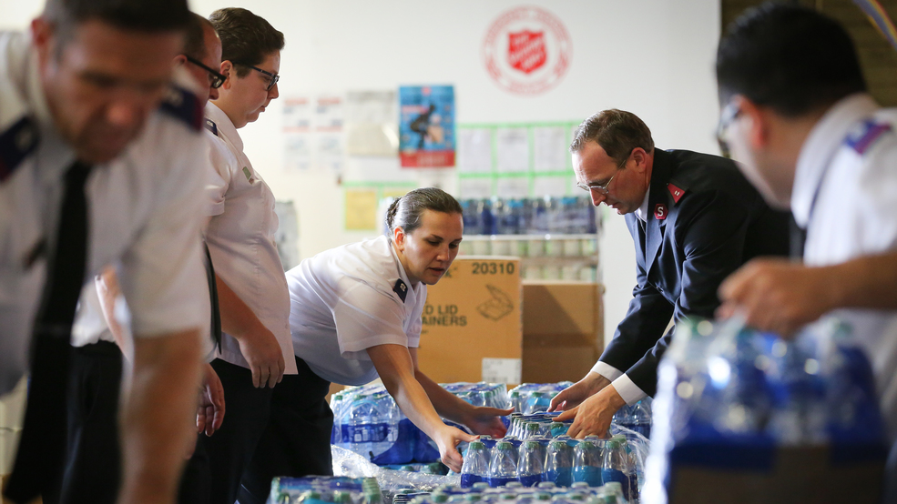 Help support The Salvation Army's relief efforts amid the coronavirus outbreak