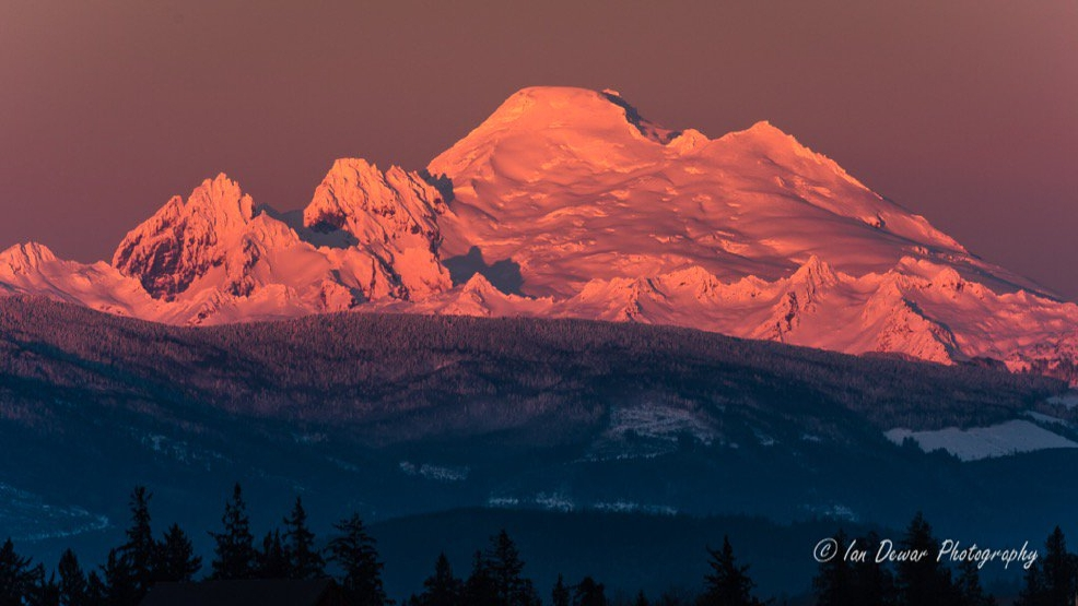 Photos: Washington's mountains show off in the winter sunshine