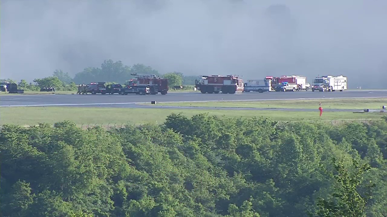 Two people, a pilot and co-pilot, were killed in a crash Friday at Yeager Airport. (WCHS/WVAH)