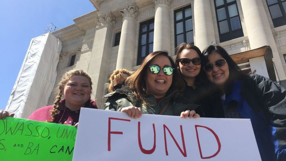 Oklahoma School Districts Making Up Time After Teacher Walkout -  NewsOn6.com - Tulsa, OK - News, Weather, Video and Sports - KOTV.com |