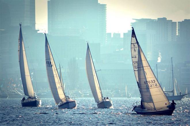 Sailing on Lake Union -- Chris McDaniel