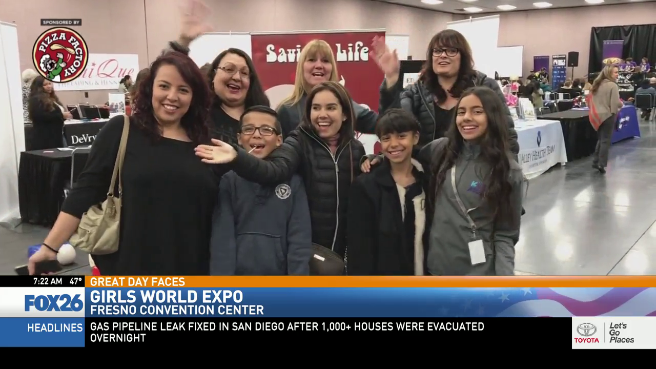 Girls World Expo at the Fresno Convention Center