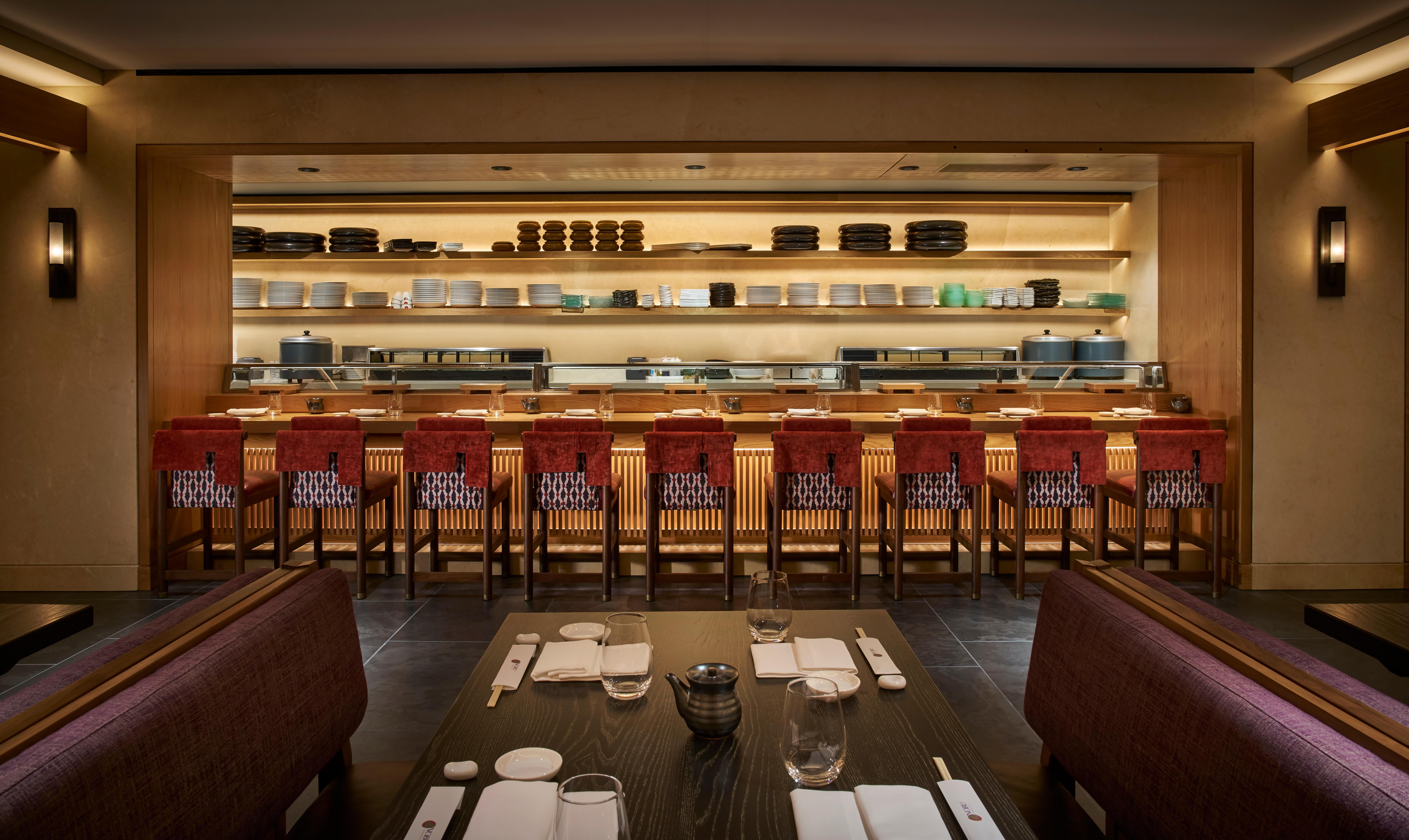 Nobu Washington DC Sushi Bar (Photo credit: Greg Powers)