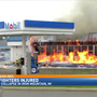 Firefighters injured in Iron Mountain gas station fire