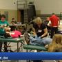 Edison marching band hosts blood drive