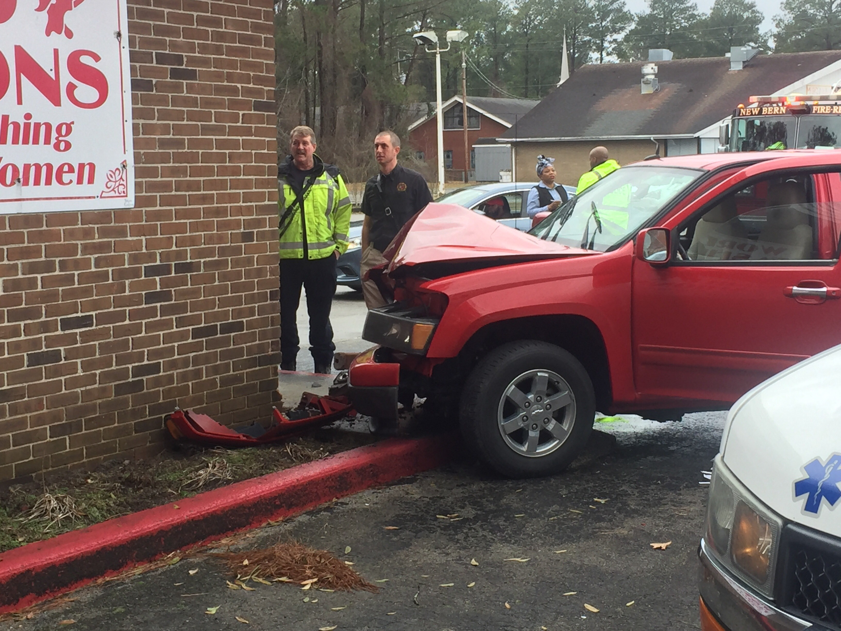 A driver suffering from a diabetic episode crashed into World Fashions clothing store on Neuse Blvd early January 23, 2018.