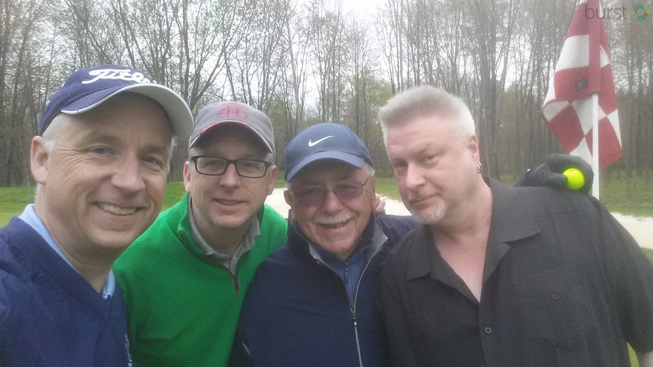 NBC3 Anchor Matt Mulcahy with his brothers and Dad