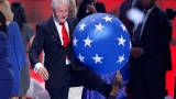 Photos: Bill Clinton, balloons and the rest is history