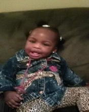 Police are searching for 19-month-old Moriah Rudolph. She was inside a car stolen from a gas station.  Source: Bessemer P.D.
