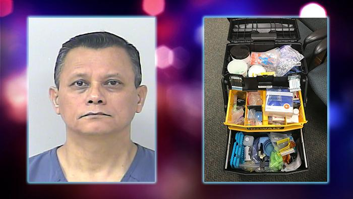 Jose Espinoza-Aleman, 52, is accused of practicing dentistry without a license. (Port St. Lucie)