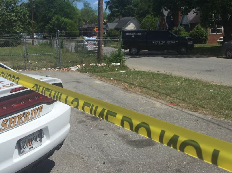 A man was shot Thursday afternoon at Houston Avenue and Grenada Terrace in Macon / Brittany  Collins (WGXA)